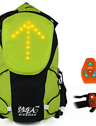 5L Bikeman Remote Light Warning  Backpack(Remote Control Color Random)