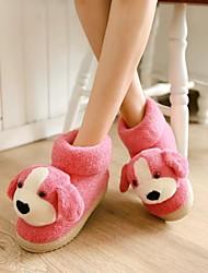 scarpe da donna punta rotonda pantofole tacco basso scarpe più colori disponibili
