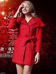 soie de bourgeon de manteau de manteau de femmes haut de gamme tissu des femmes lifver®