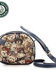 DAKA BEAR® Fashion Women Canvas Bags Mini Girls Messenger Bag Vintage Shoulder bag Casual Satchel