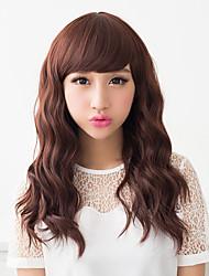 SSS Women's Fluffy Big Wave Long Wig