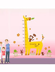 Wall Stickers Wall Decals, Style Giraffe  Measure Your Hight PVC Wall Stickers