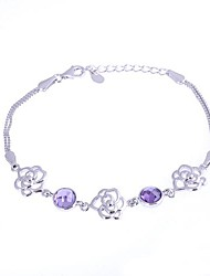 AS 925 Silver Jewelry  Epoxy Bracelet