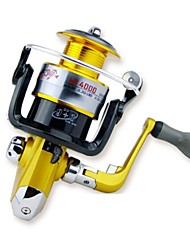Yomores ® Sea Fishing Metal Foldable Reel Spinning Fishing Lure Sea Fishing Reel LB4000