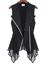Taylor Women'S Chiffon Bodycon Waistcoat