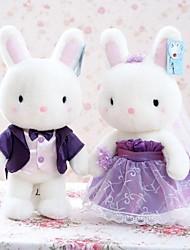 Stuffed Toys Brinquedos Originais Novidades Rabbit Felpudo Branco Para Meninos / Para Meninas