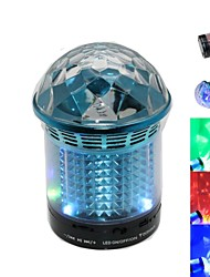 RGB MiNi Bluetooth Speaker Micro SD Mic USB AUX Portable Handfree for iPhone Samsung and Other Cellphone