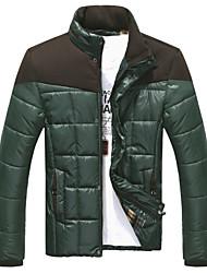 Langxin mannenmode ongedwongen warme jas