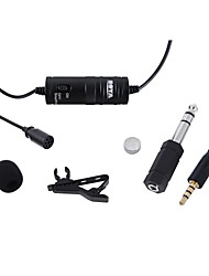 Lavalier Lapel Clip-on Omnidirectional Microphone for Cameras Camcorders & Smartphones(iPhone iPad Samsung Galaxy&Note)