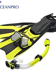 OceanPro 2014 maschera per adulti babylon set snorkel fin