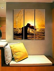 e-Home® tela sei il profilo delle acque di set pittura decorativa di 3