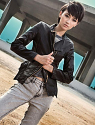 Women's New Fashion PU Leather Coat