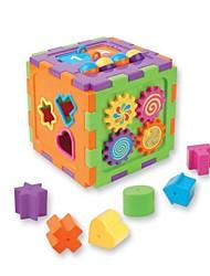 placa de classificação geométrica bebê primário engraçado blocos de brinquedo de empilhamento educacional das crianças