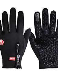 WOLFBIKE Winter Outdoor Anti-skidding MTB DH Downhill Off Road Full Finger Gloves