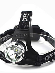 Lights Headlamps LED 1800 Lumens 3 Mode Cree XM-L T6 18650 Waterproof Multifunction Aluminum alloy