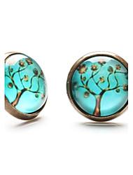 Earring Stud Earrings Jewelry Daily / Casual / Sports Copper Bronze
