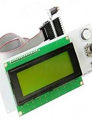 lcd RepRap 2004 controlador inteligente acessórios para impressoras exibição em 3D