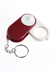 Keychain Folding Magnifier 10x Magnifier With Light