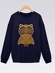 modelo del búho de moda suéter de las mujeres delargent