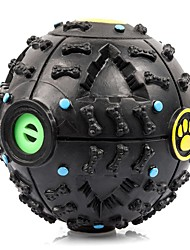 Pet Dog Voice Sound Ball Toy Feeding Food Ball Intelligent Development IQ Toy