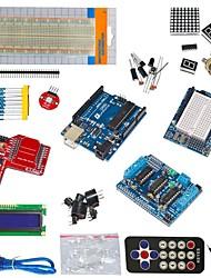 funduino ООН r3 + L293D приводной двигатель + модуль беспроводной передачи данных