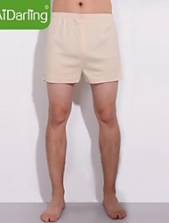 aidarling algodón orgánico ropa interior suelta de los hombres (dos pares de ropa interior junto a vender)