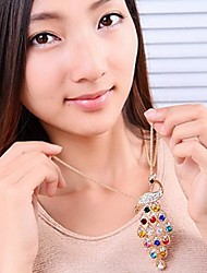 Women's Quartz Necklace Daily Crystal