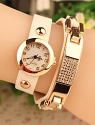 Women's 2015 The Latest  Fashion Leather Japanese Quartz Watch(Assorted Colors) Cool Watches Unique Watches