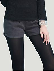 pantalones cortos de tweed de moda de las mujeres delargent