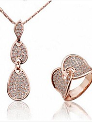 Wedding / Party / Daily / Casual-Necklaces / Rings(Alloy)