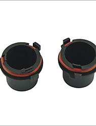 Car HID Bulb Holder Socket Adapter for Opel--2PCS
