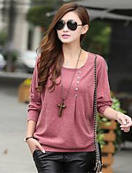 lc&moda batwing ocasional blusa de manga ph das mulheres