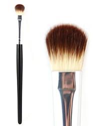 cepillo de sombra de ojos profesional de la herramienta del maquillaje ojos