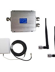 New LCD 3G980 2100MHz Mobile Signal Repeater Booster with Panel Antenna Kit