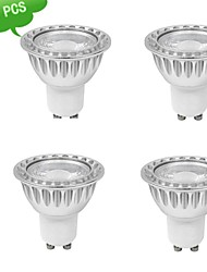 9W GU10 Spot LED MR16 1 COB 810 lm Blanc Chaud AC 85-265 V
