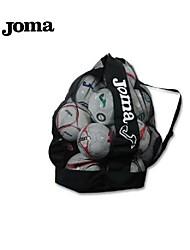 Joma exterior 100% poliéster equipe saco preto de futebol