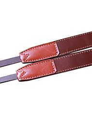 Funper Dslr Slr Handmade Leather Strap E-P1 Nex5 Gf1 Brown