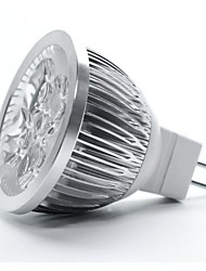 5W GU5.3(MR16) LED Spotlight MR16 5 High Power LED 350-400 lm Warm White DC 12 V