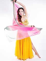 Belly Dance Stage Performance Multi Color Chiffon Silk-Like Shawls(More Color)