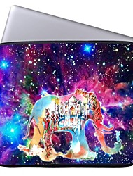Elonbo Bright Star and Castle Elephant 13'' Laptop Waterproof Sleeve Case Bag for Macbook Pro/Air Dell HP Acer