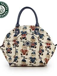 DAKA BEAR® Fashion Women Leather Shoulder Bag Handbag Tote Purse Hobo Brown Messenger bag