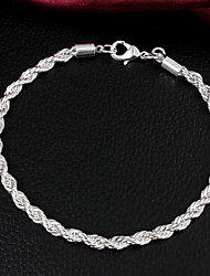 Uyuan Women's Fashion 925Silver Bracelet