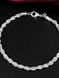 Uyuan Women's Fashion 925Silver Bracelet
