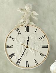 tema cupido polyresin em relevo relógio de parede