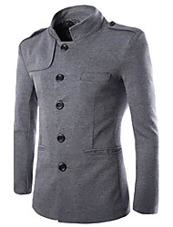 de los hombres nueva inglaterra cuello temperamento ocio adapte roma túnica chino