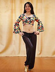 Belly Dance Dancewear Silk Belly Dance  Women's Ankle Banded Bloomers
