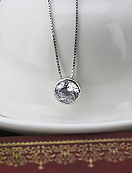 yumu способа 925 серебряное ожерелье женщин