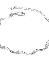 De zeven vrouwen mooie zilveren alle bijpassende Koreaanse stijl armband