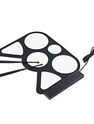 Mini Music Fun Toy Instrument PC Desktop USB Roll Up Digital Drum Pad Kit