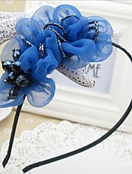Women's/Flower Girl's Satin/Lace/Alloy Headpiece - Wedding/Special Occasion/Casual/Office & Career Headbands